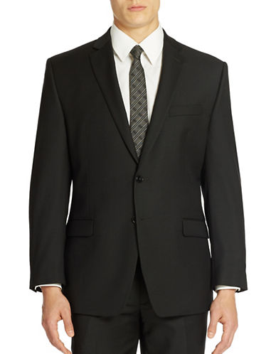 CALVIN KLEIN Modern Fit Wool Suit Jacket
