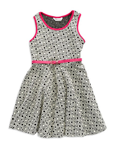 PIPPA & JULIEGirls 7-16 Patterned Ponte Dress