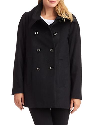 GEORGE SIMONTONEnvelope Collared Coat