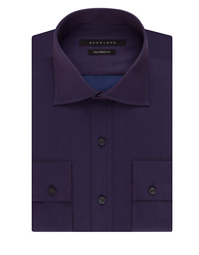 SEAN JOHNSolid Dress Shirt