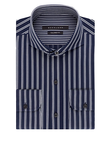 SEAN JOHNStriped Dress Shirt