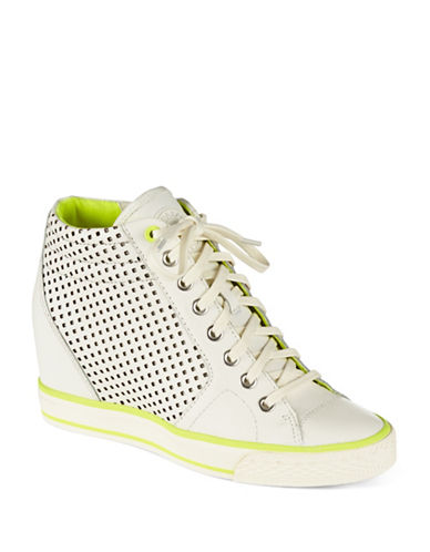 DKNYC Cindy Wedge Sneakers