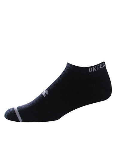 UNDER ARMOUR No Show Socks - 6-Pack