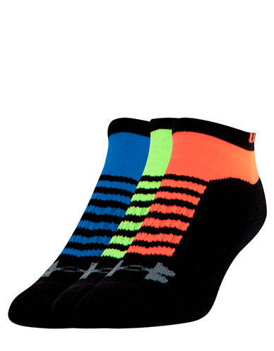 UNDER ARMOUR Beyond V No-Show Three-Pack Socks