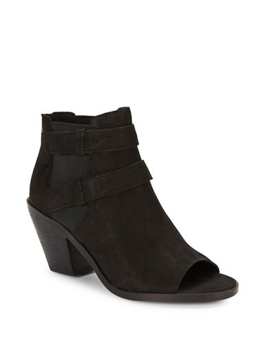 Buy List Tumbled Nubuck Ankle Boots by Eileen Fisher online