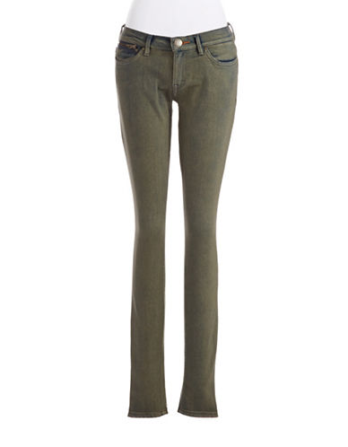 DITTOSZipper Accented Skinny Jeans