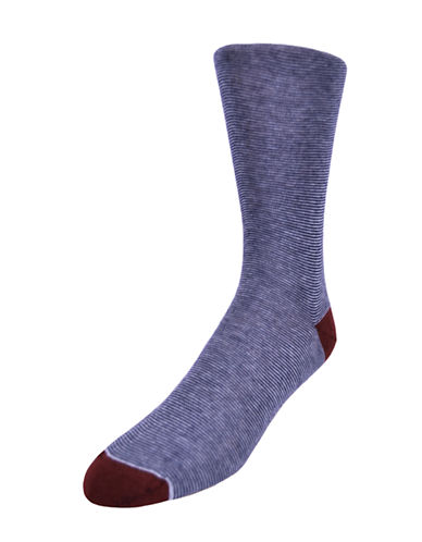 BLACK BROWN 1826 Colorblock Dress Socks