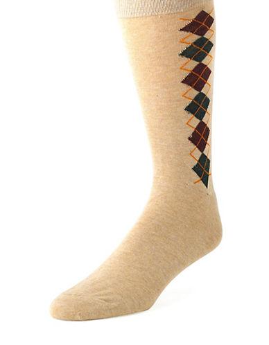 BLACK BROWN 1826Argyle Socks