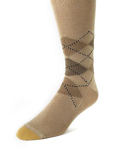 GOLD TOEArgyle Socks
