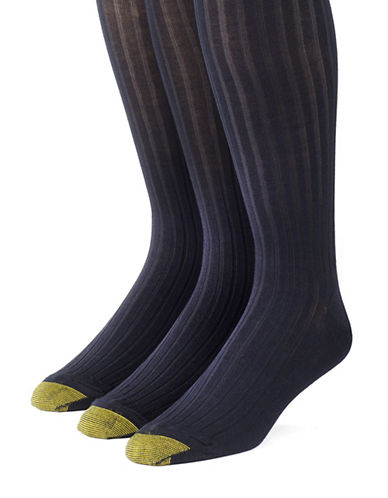 GOLD TOE3-Pack Canterbury Over-the-Calf Dress Socks