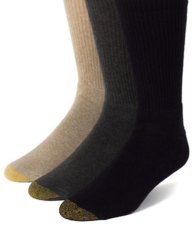 GOLD TOE3-Pack Uptown Crew Socks