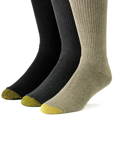 GOLD TOE 8-Pack Assorted Crew Socks