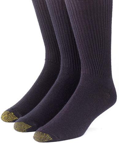 GOLD TOE3-Pack Crew-Length Socks