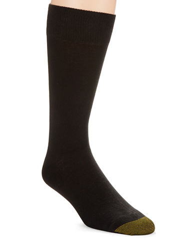 Gold Toe 5-Pack Cotton Crew Socks