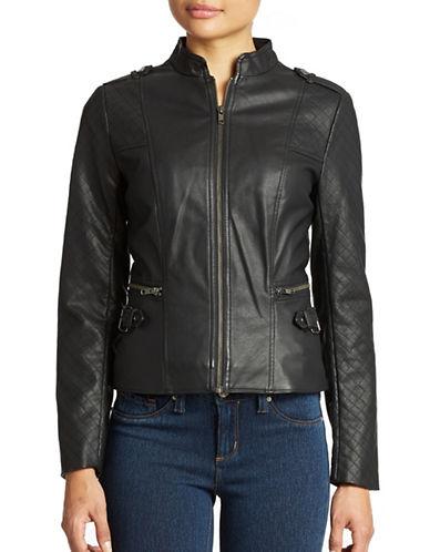 JESSICA SIMPSONDean Faux Leather Moto Jacket