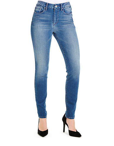 JESSICA SIMPSON High-Waisted Skinny Jeans