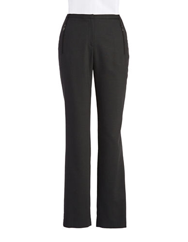 T TAHARI Straight-Leg Pants