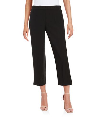 Karli Cropped Wide-Leg Pants plus size,  plus size fashion plus size appare