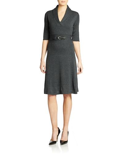 CALVIN KLEINShawl Collar Dress
