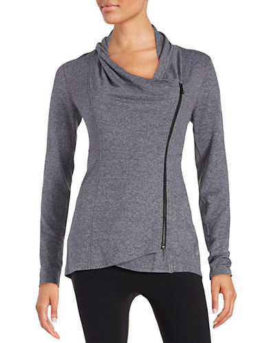 Calvin Klein Performance Asymmetrical Zip Cardigan