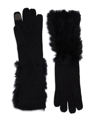 PORTOLANORabbit Fur Gloves