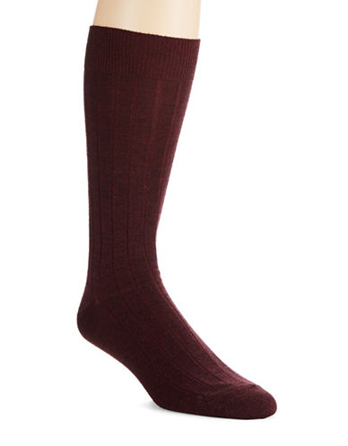 COLE HAAN Ribbed Dress Socks