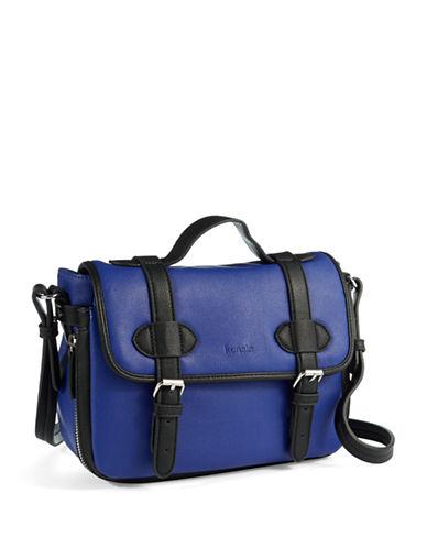 KENSIEBuckle Accented Crossbody Bag