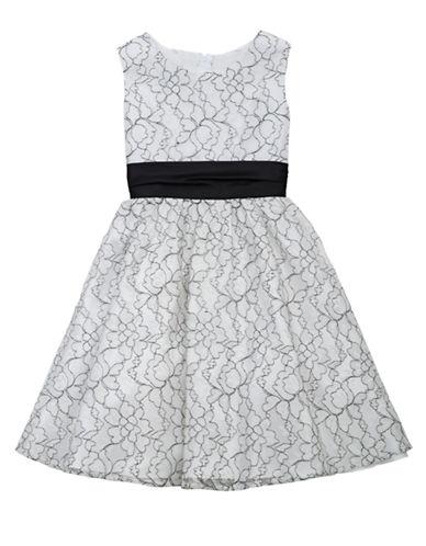 RARE EDITIONSGirls 7-16 Floral Lace Dress