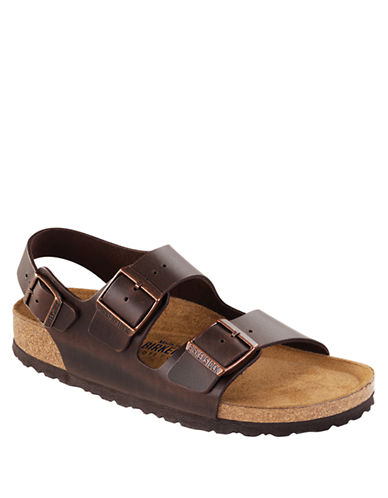 BIRKENSTOCKMilano Leather Slingback Sandals