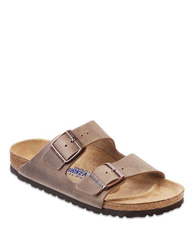 BIRKENSTOCKArizona Tobacco Oiled Leather Sandals