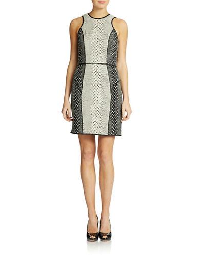 Shop Ali Ro online and buy Ali Ro Pieced Snake-Print Dress dress online