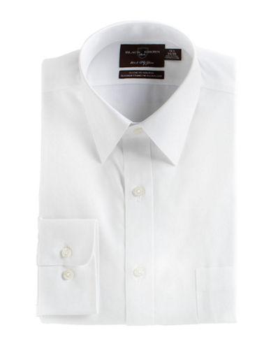 BLACK BROWN 1826Regular Fit Cotton Dress Shirt