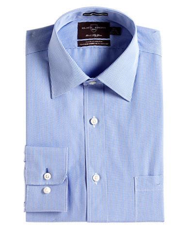 BLACK BROWN 1826Regular Fit Long-Sleeved Cotton Gingham Dress Shirt