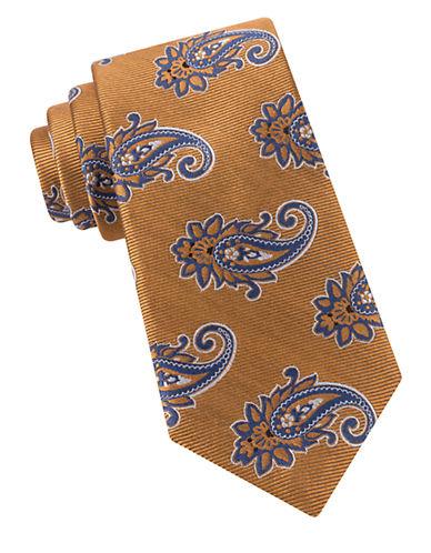 Paisley-Printed Silk Tie $79.50 AT vintagedancer.com