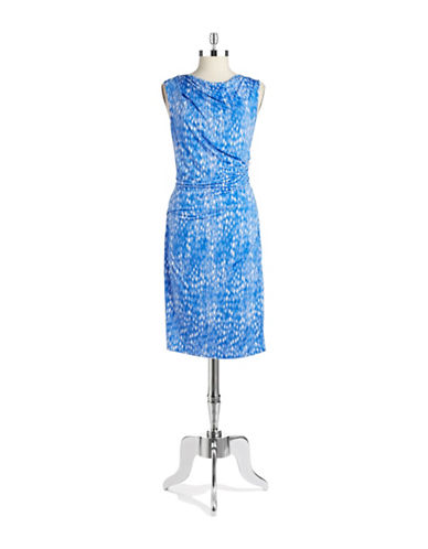 Shop Dknyc online and buy Dknyc Ruched Wrap Dress dress online