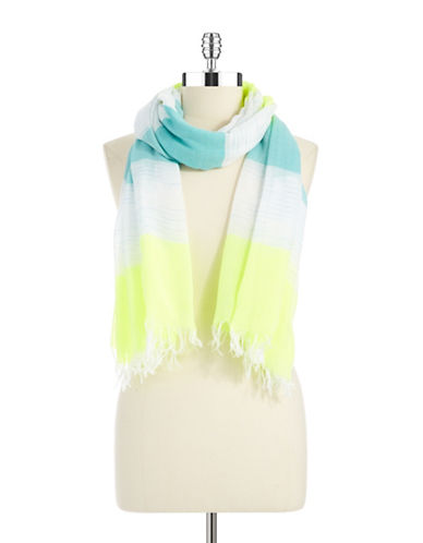 STEVE MADDEN Block Striped Scarf