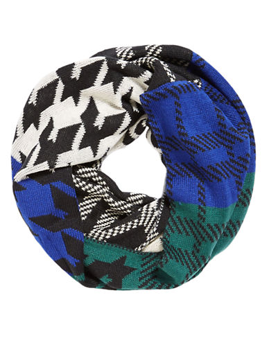STEVE MADDEN Colorblock Infinity Scarf