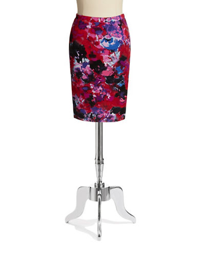 LOVE ADY Floral Pencil Skirt