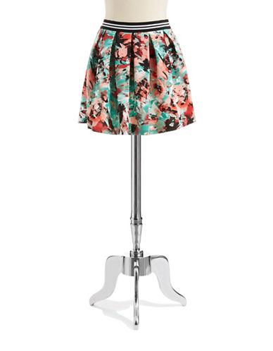 LOVE ADYPatterned Scuba Skirt