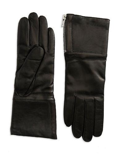 CAROLINA AMATOShearling-Lined Leather Gloves