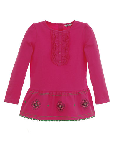 Baby Girls 12-24 Months Long-Sleeve Cotton Jersey Tunic
