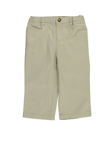 HARTSTRINGSBaby Boys Baby Boys Flat Front Cotton Twill Pants