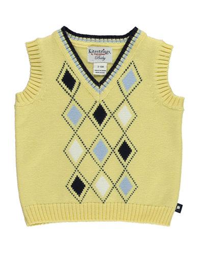 HARTSTRINGSBaby Boys Cotton Argyle Sweater Vest
