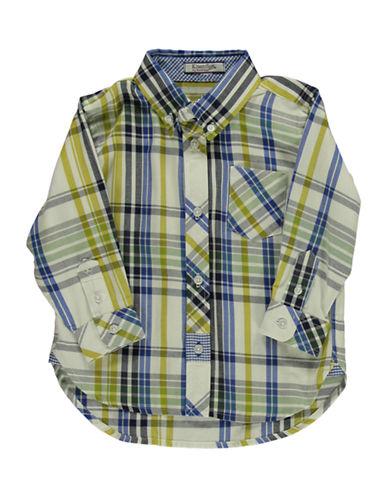 HARTSTRINGSBaby Boys Cotton Plaid Shirt