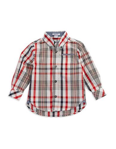 KITESTRINGSBoys 2-7 Plaid Sport Shirt