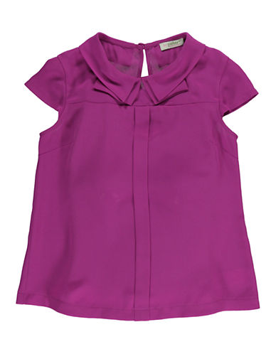 KC PARKER Girls 7-16 Crepe Chiffon Blouse