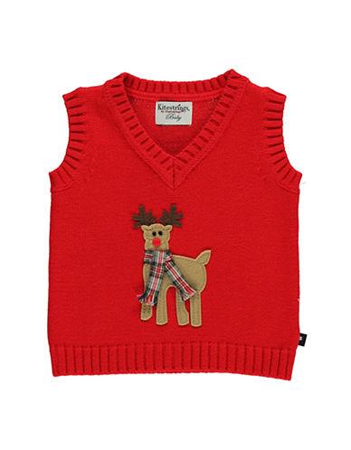 HARTSTRINGSBaby Boys Cotton V Neck Sweater Vest