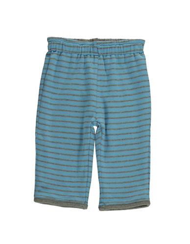 HARTSTRINGSBaby Boys Reversible Striped Cotton Pants