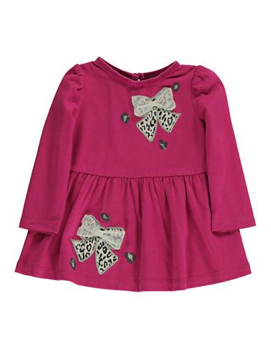 HARTSTRINGSBaby Girls Bow Applique Dress