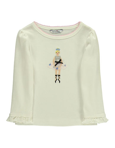 HARTSTRINGS Baby Girls Cotton Ballerina Tee